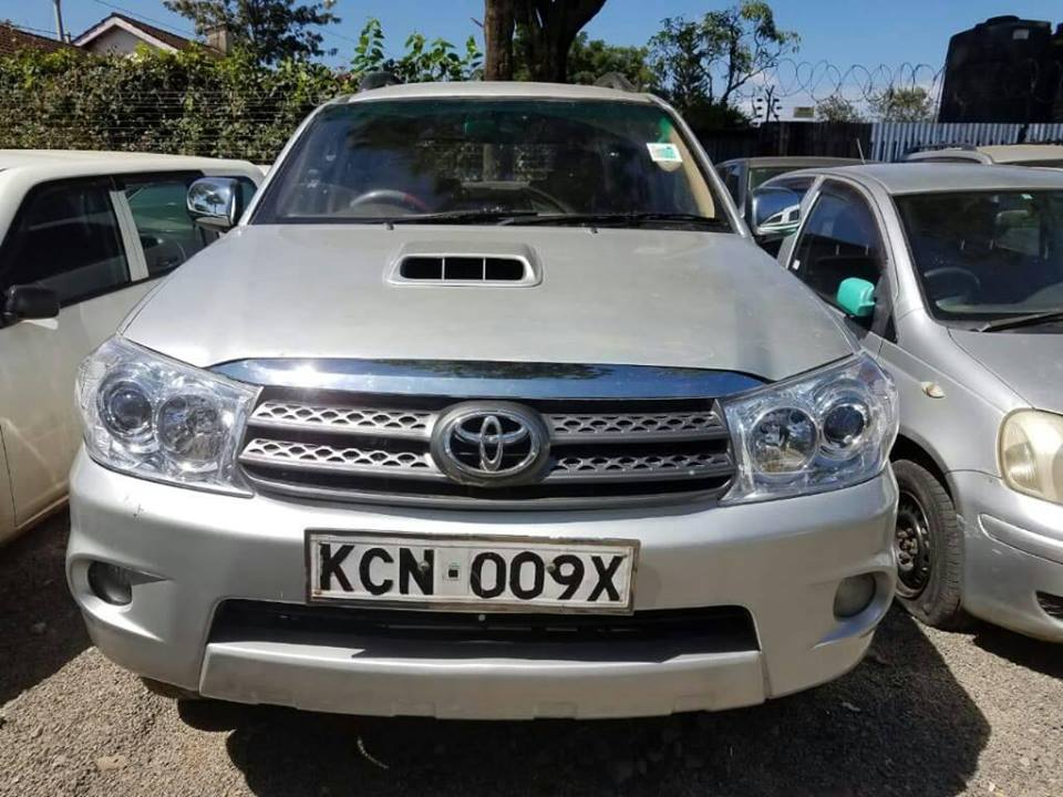 Toyota Fortuner For Sale - Cars For Sale In Kenya