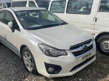 Subaru Impreza G4 Year 2013 2000 CC Petrol Automatic Transmission 4WD White Ksh 1.1M