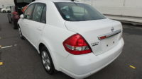 Nissan Tiida Latio year 2012 1500 cc petrol automatic transmission white color not used locally Ksh 655K