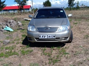 Toyota Corolla NZE year 2001 KAV 1600 cc petrol 2WD automatic transmission silver color