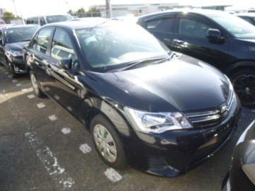 Toyota Axio Year 2014 1500 CC Petrol Automatic Transmission 2WD Blue color Ksh 1.27M
