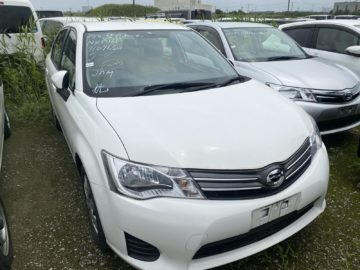 Toyota Axio Year 2014 1500 CC Petrol Automatic Transmission 2WD White color Ksh 1.26M