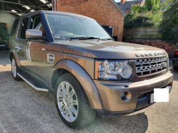 Landrover Discovery 4 HSE 2013 Bronze Color with Customized interior Ksh 5.15M