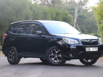 Subaru Forester Year 2013 New Shape KDB 2000 CC Petrol Automatic Transmission 4WD Black Color Ksh 2.13M