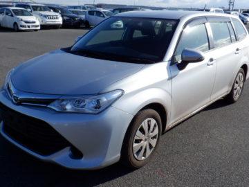Toyota Fielder Silver color 2015 model