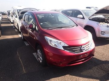 NISSAN NOTE RED COLOUR,2014 MODEL