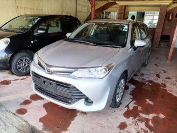 Toyota Fielder New Shape