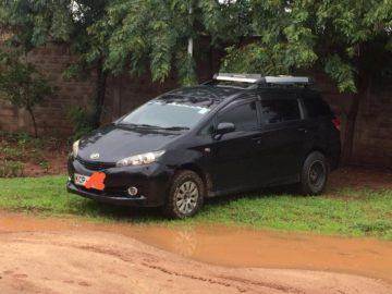 Toyota Wish New Shape