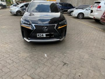 2015 Lexus NX Mettalic Black