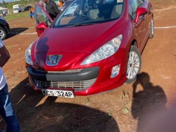 Poppy- Red-wine Peugeot 308 for Sale