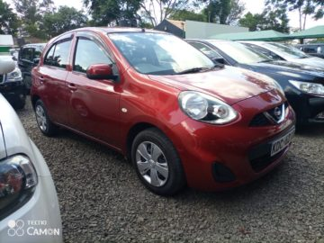 NISSAN MARCH 2014 KSH. 630000 NEG