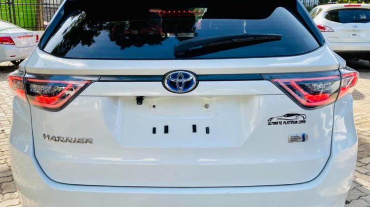 Toyota Harrier new shape Hybrid 2014