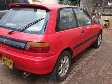 Toyota Starlet For sale accident free 0722567664